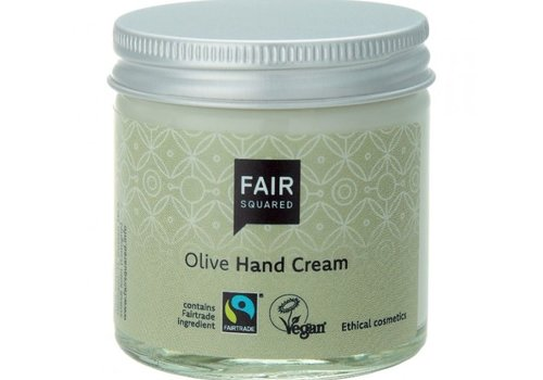 Fair Squared Handcrème Olive - 50ml - vegan