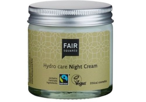 Fair Squared Nachtcreme - met arganolie en sheaboter