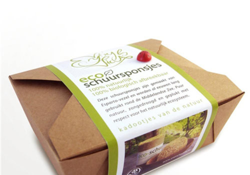 Enjoy la Vida Eco Schuursponsjes Geschenk Set