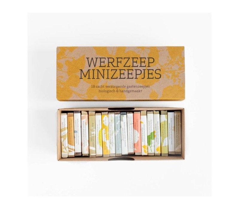 Werfzeep minizeepjes - 18 st.