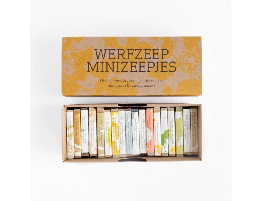 Werfzeep Werfzeep minizeepjes - 18 st.