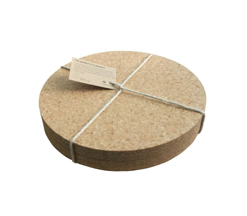 placemats van kurk - 4 stuks