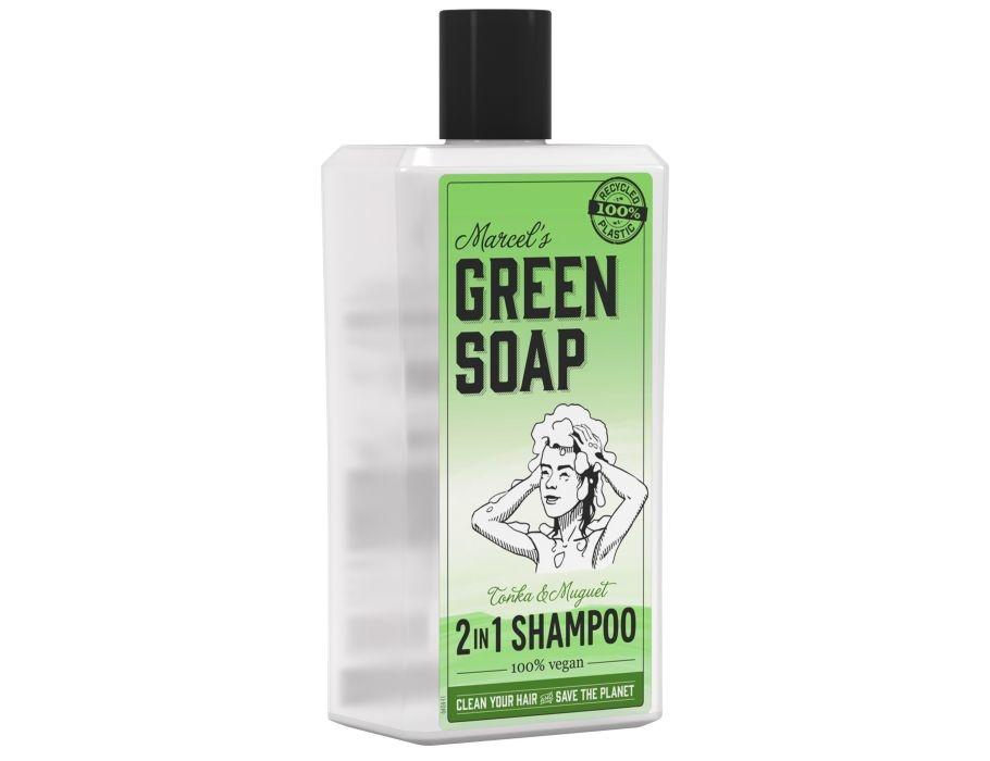 Marcels Green Soap Shampoo - Tonka & Muguet - 500ml