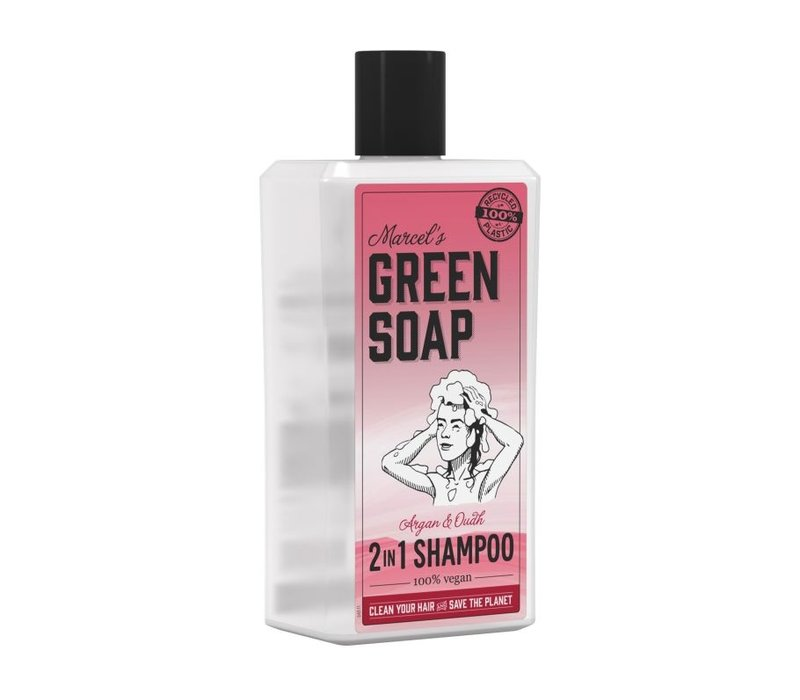 Shampoo - Argan & Oudh - 500ml