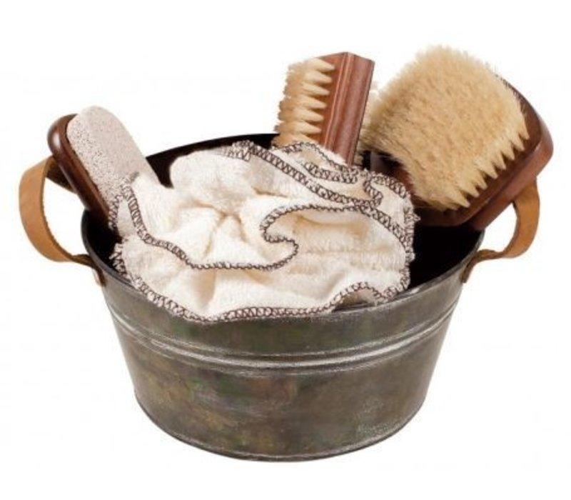 Zink badkamer geschenk set