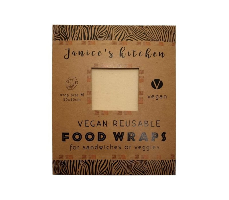 Vegan Soja Food Wrap Medium