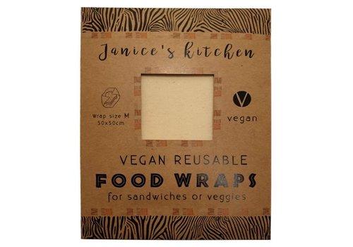 Janice Kitchen Vegan Soja Food Wrap Large