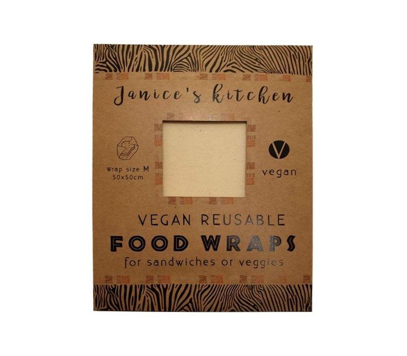 Vegan Soja Food Wrap Medium - Large