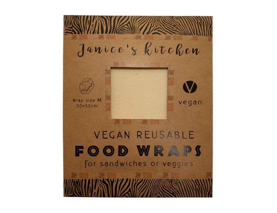 Janice Kitchen Vegan Soja Food Wrap Medium - Large