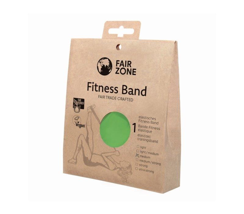 Fitness band groen - medium - 0,25 mm