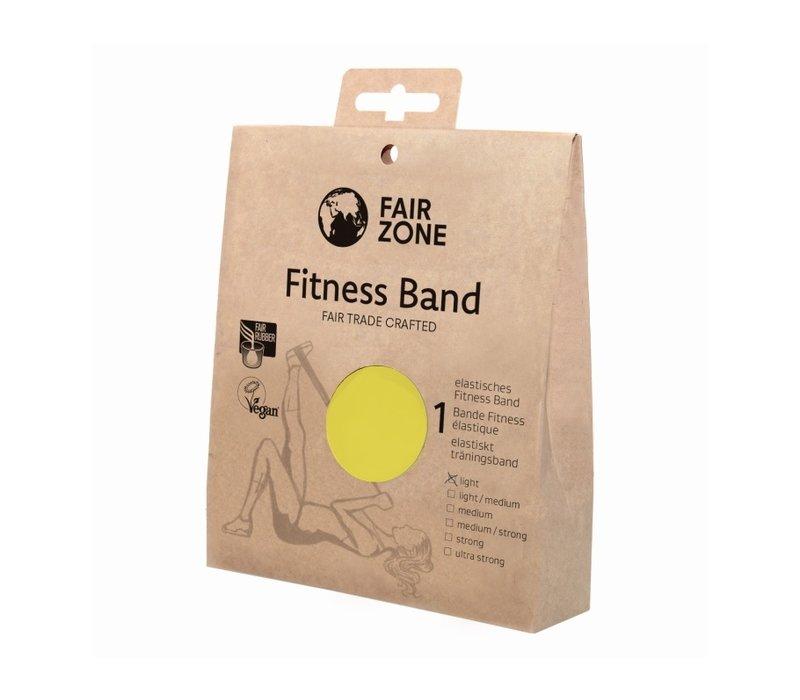 Fitness band geel - light - 0,16 mm