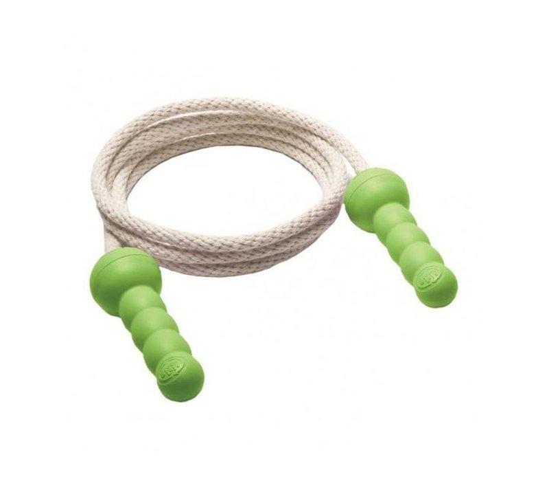 Springtouw Groen - gerecycled plastic