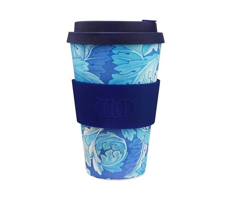 Koffiebeker To Go - Acanthus William Morris - van biologisch afbreekbaar bamboe - Copy
