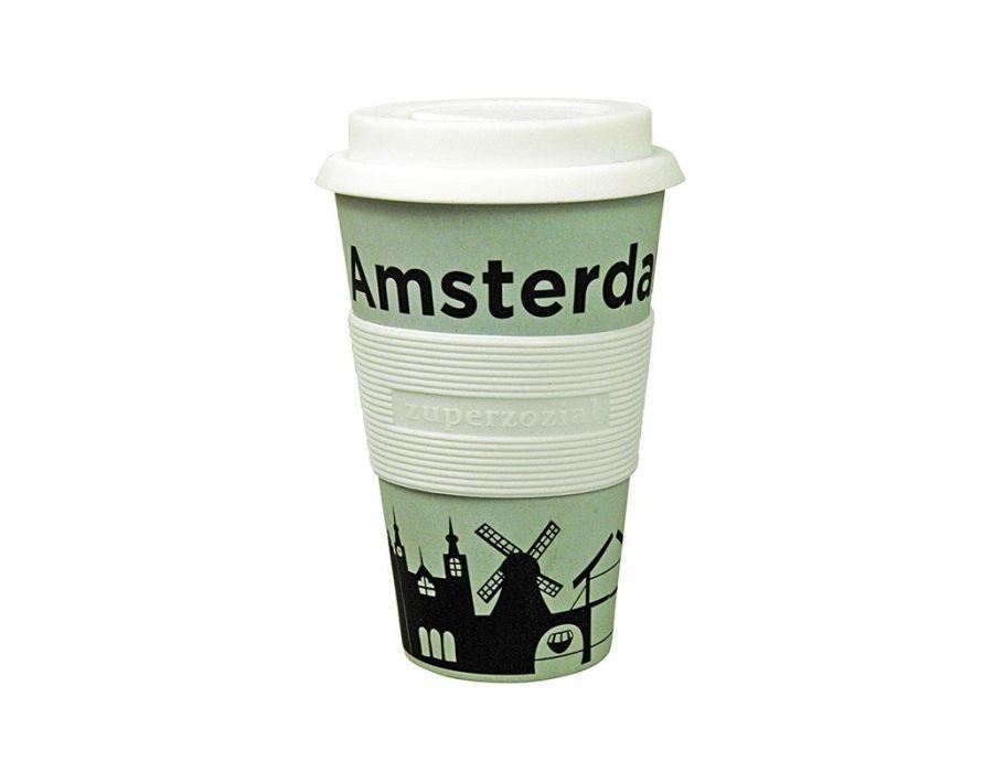 Zuperzozial Koffie beker To Go - Amsterdam
