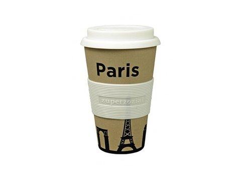 Zuperzozial Koffie beker To Go - Paris