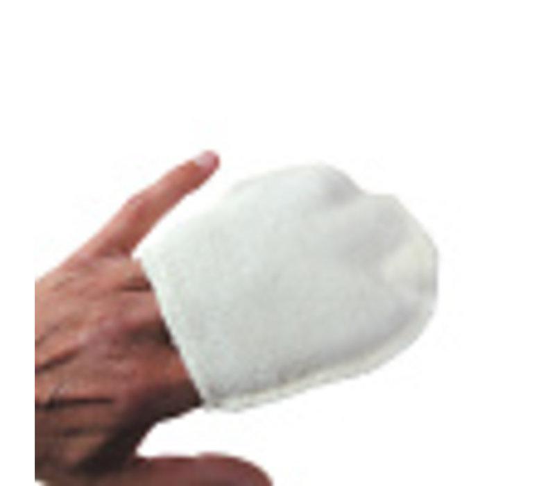 Make up verwijder handschoen wasbaar katoen 4st.