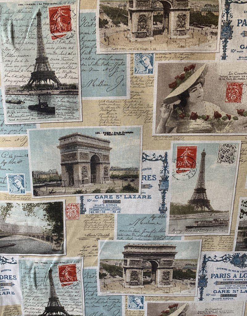 Eiffeltoren decoratiestof