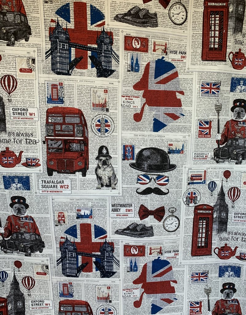 London City decoratiestoffen
