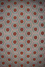 Okapi Rouge meubelstoffen