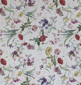Badir wilde Blumen Dekorationstoff