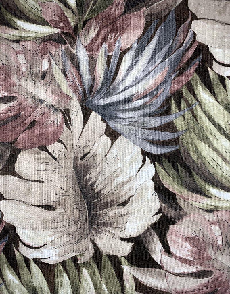 Palmbladeren Vintage decoratiestof