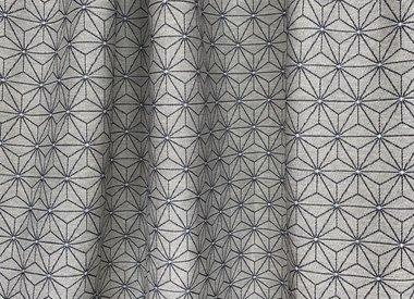 Geometrische & Retro Vorhangstoffe