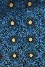 Togo Blauw Interieurstof