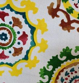 Oezbekistan Wit Decoratiestof