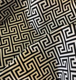 Labyrinth-Jacquard-Stoff