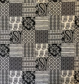 Paisley Patchwork Jacquardstof
