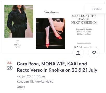 Cara Rosa en Mona Wie in Knokke