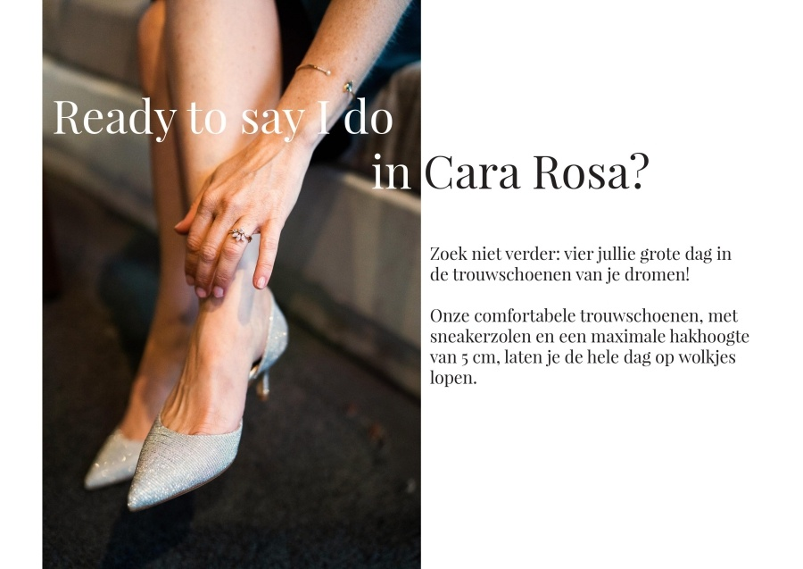 trouwschoenen Cara Rosa