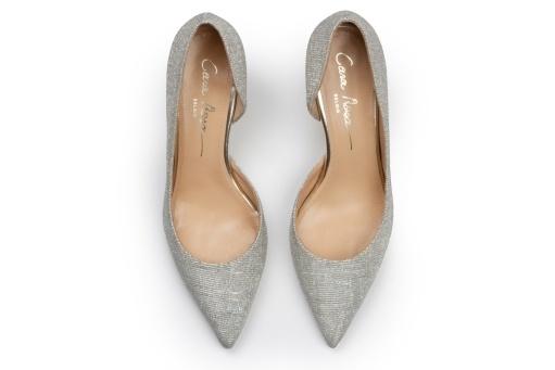 Glitter pumps trouwschoenen Cara Rosa
