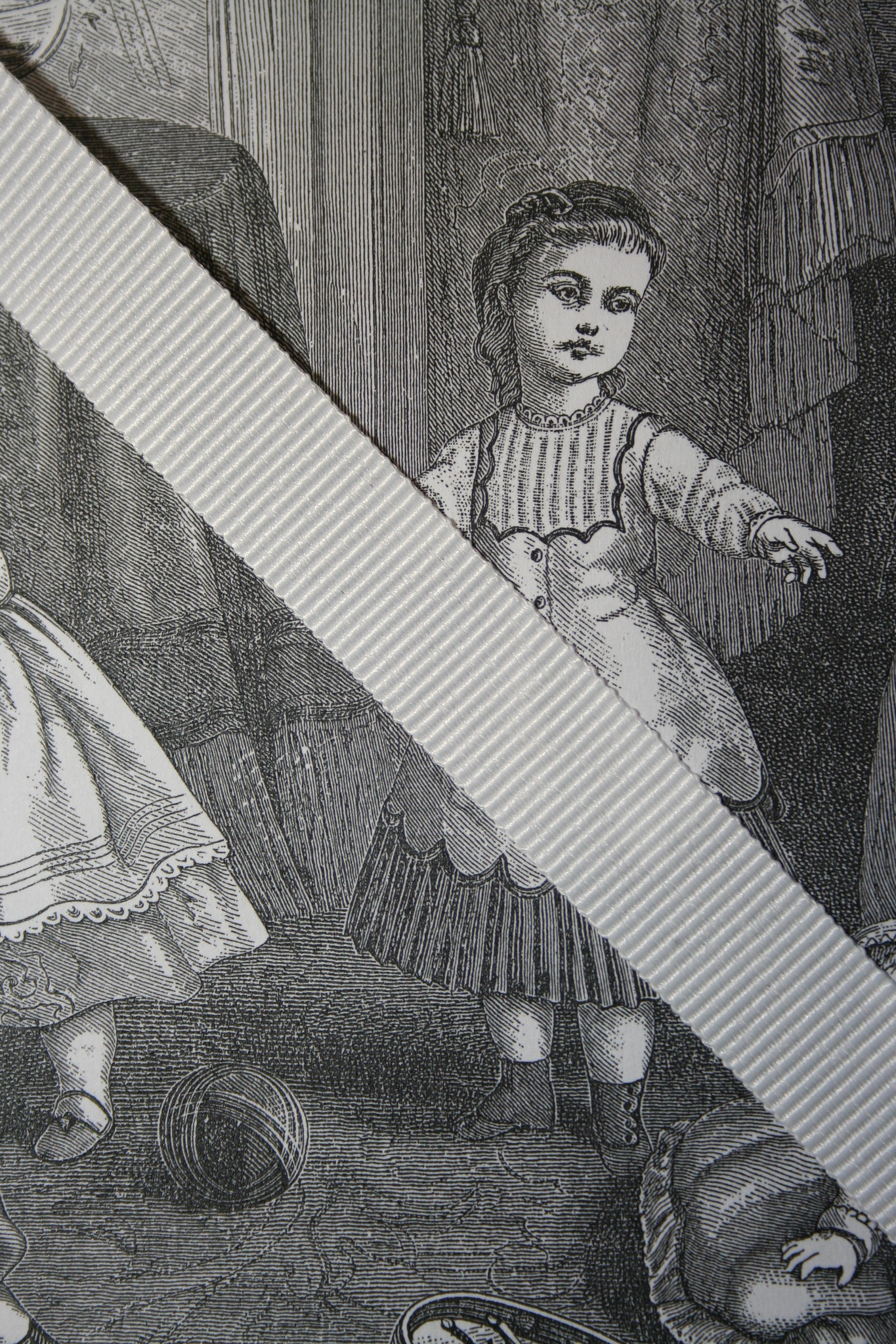 Grossgrain ribbon.