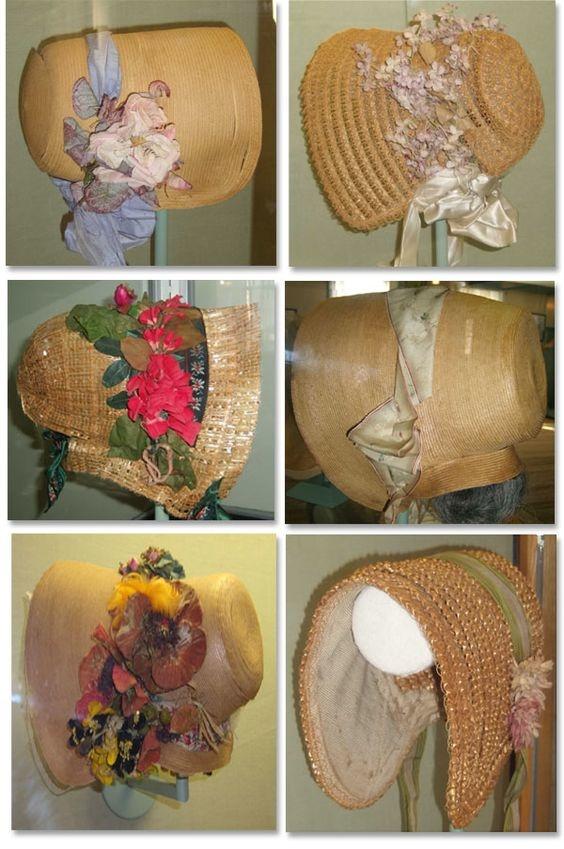 Vintage hat straw braid.