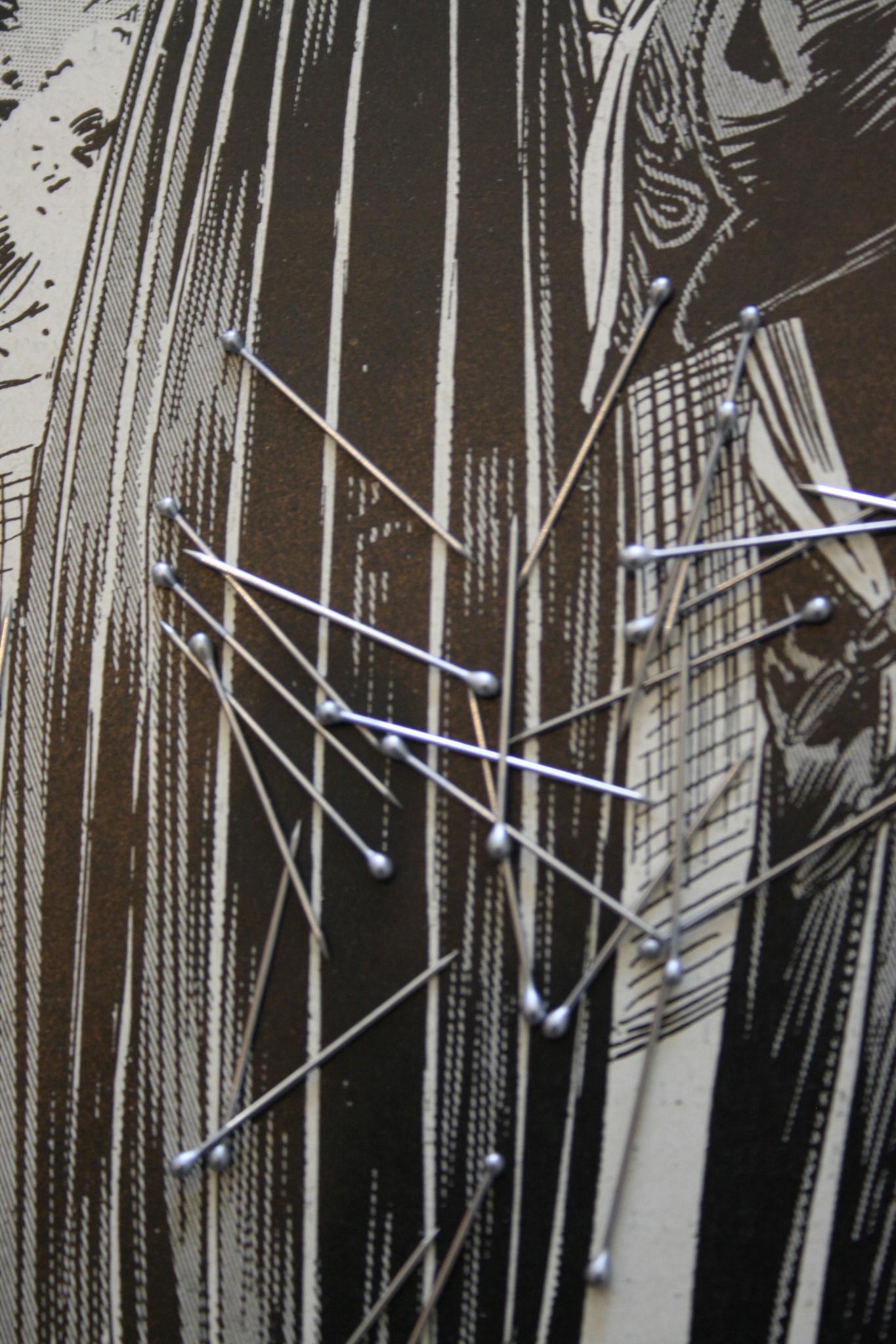 Shirt/dress pins of spelden.