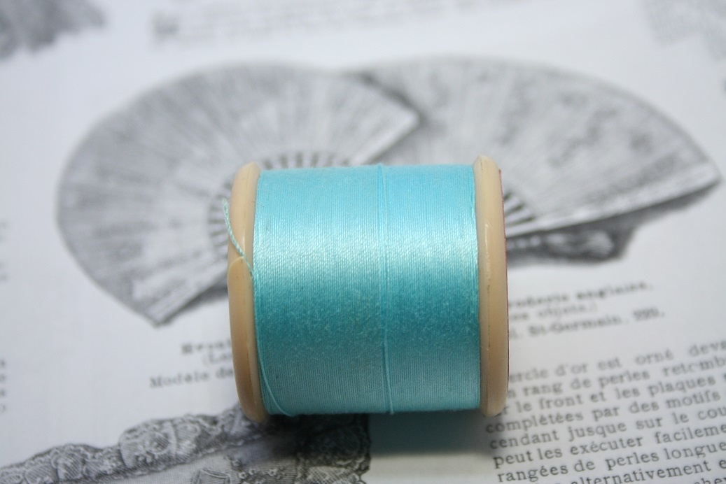 Vintage cotton thread.