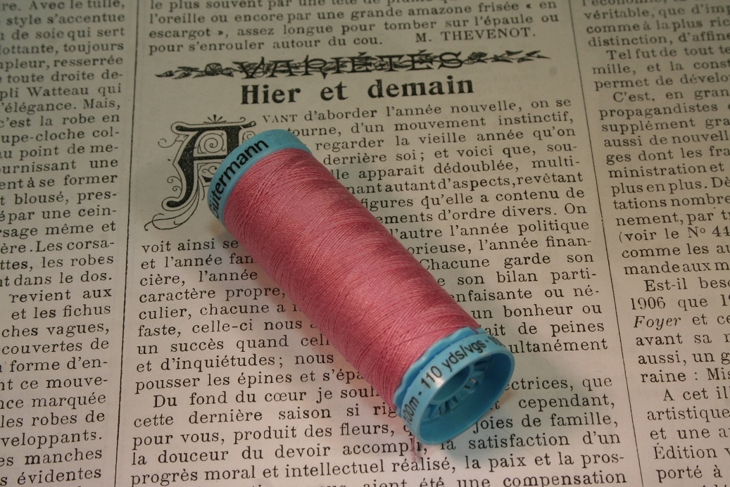 Gutermann silk thread 211.