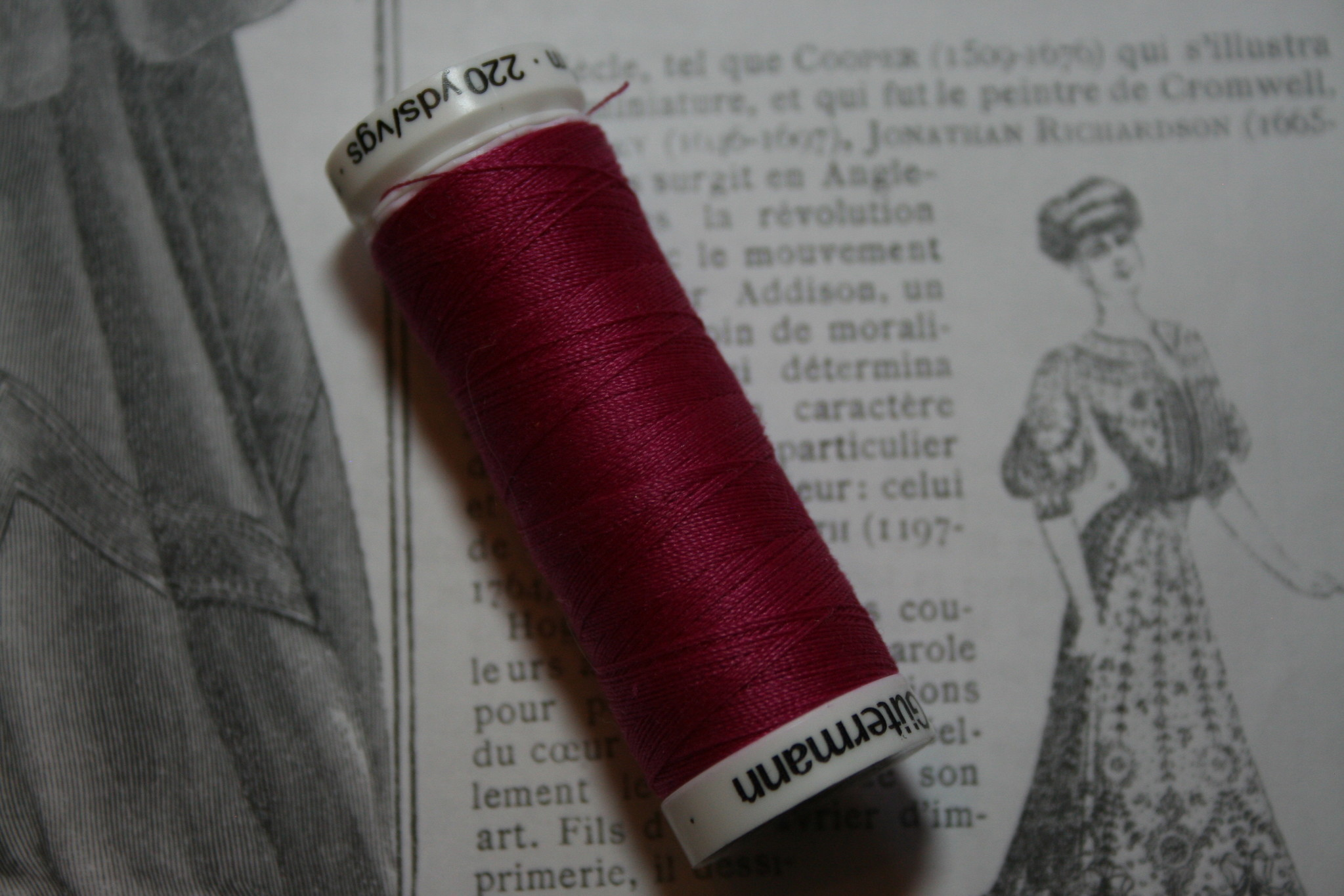 Gutermann machine thread 200m.