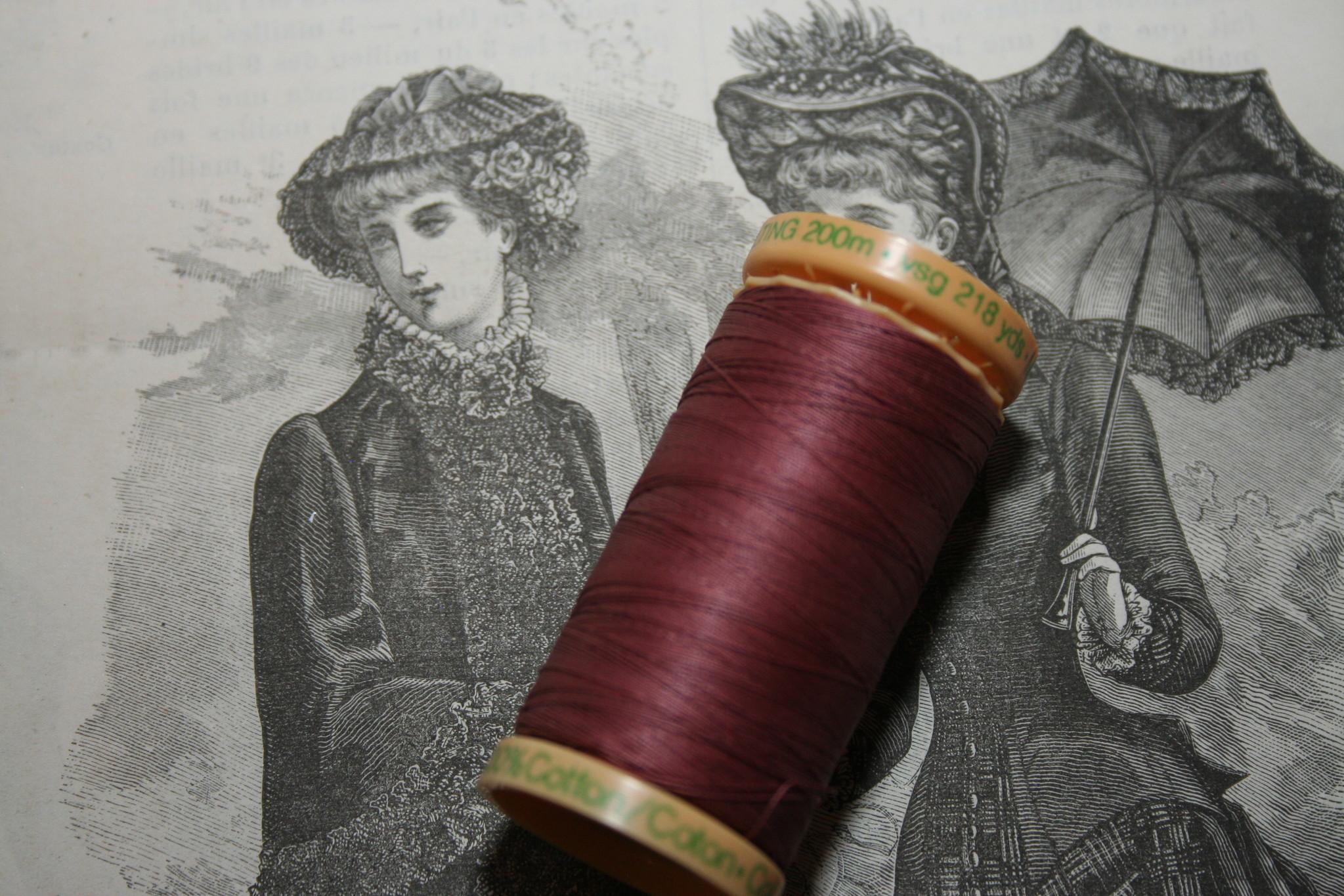 Gutermann quilt cotton thread.