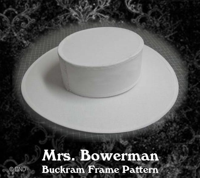 Hat pattern: Victorian, Edwardian and Modern.