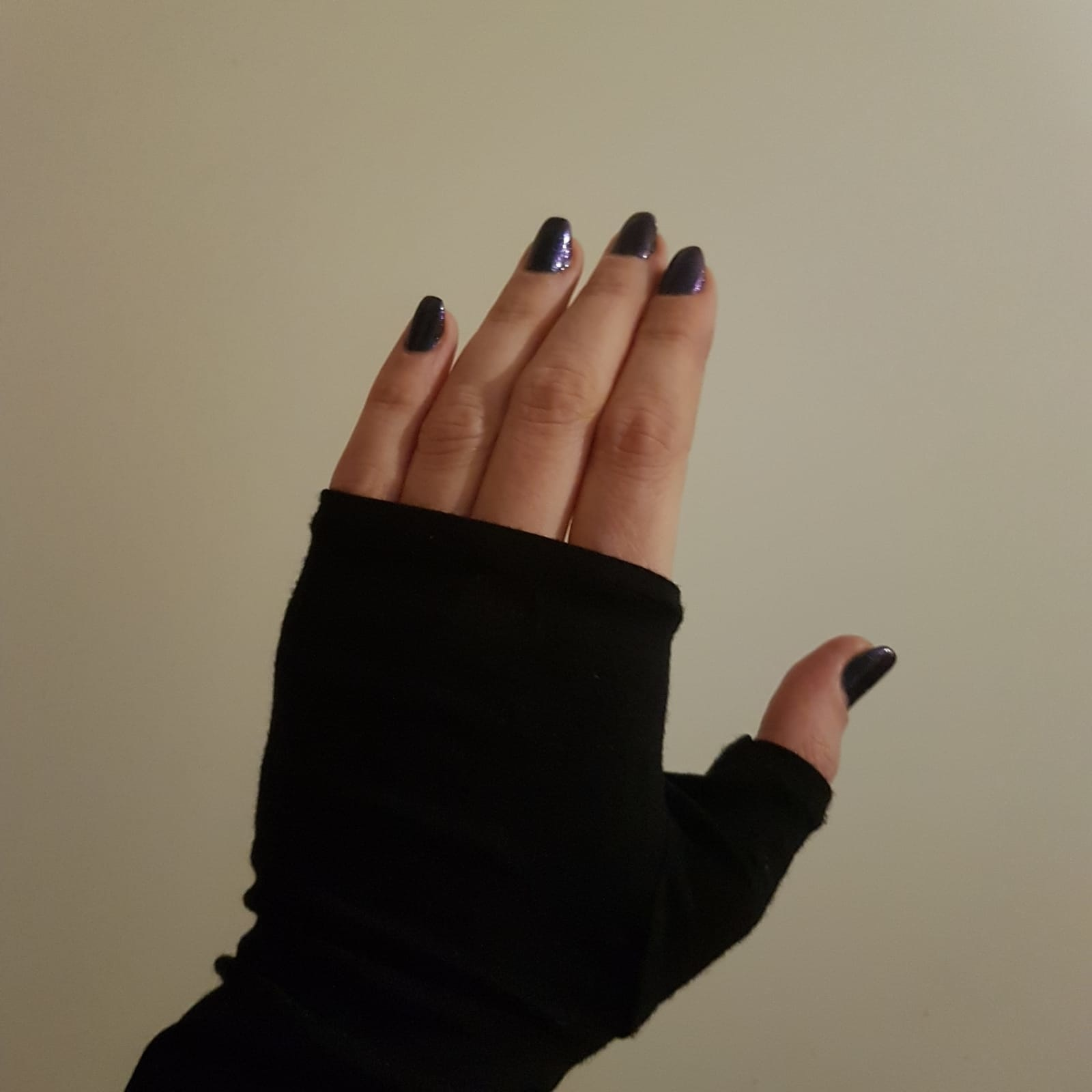 Katoenen Opera Vingerloze Handschoenen/Mittaines versch. kleuren