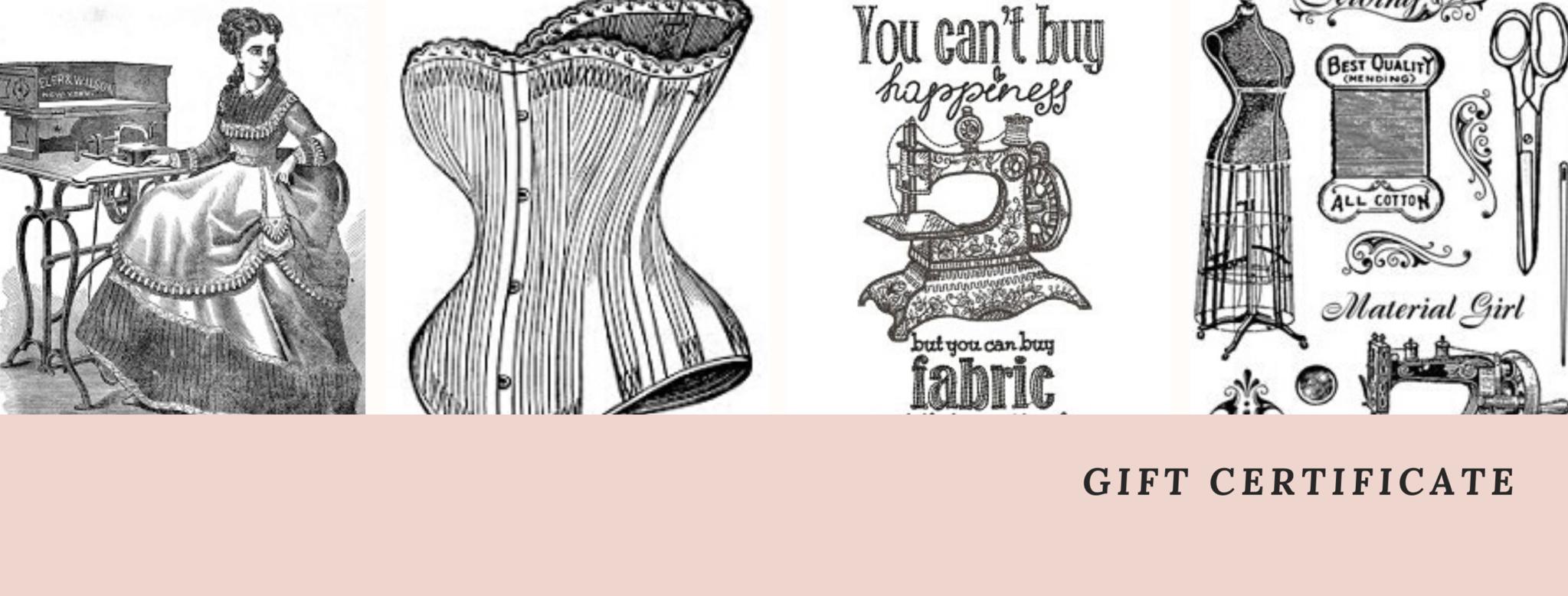 Geef een historisch kostuum liefhebber een cadeaubon van La Rose Passementarie!