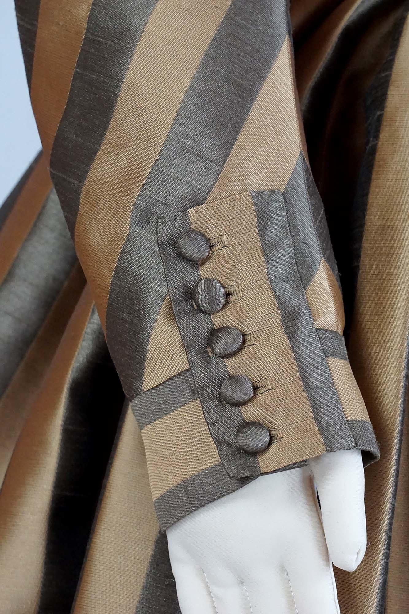 Black Snail Patterns Black Snail Patterns Redingote incl. accessoires 1780