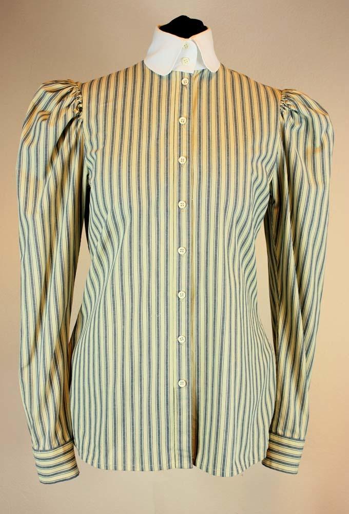 Black Snail Patterns Black Snail Patterns Edwardiaanse Sport  blouse 1900