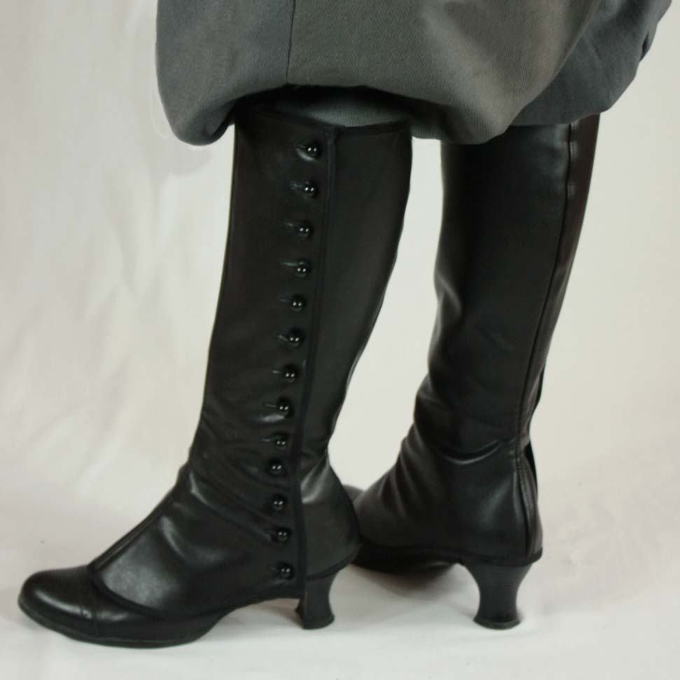 Black Snail Patterns Black Snail Patterns Victorian Trousers and Gaiters circa 1900