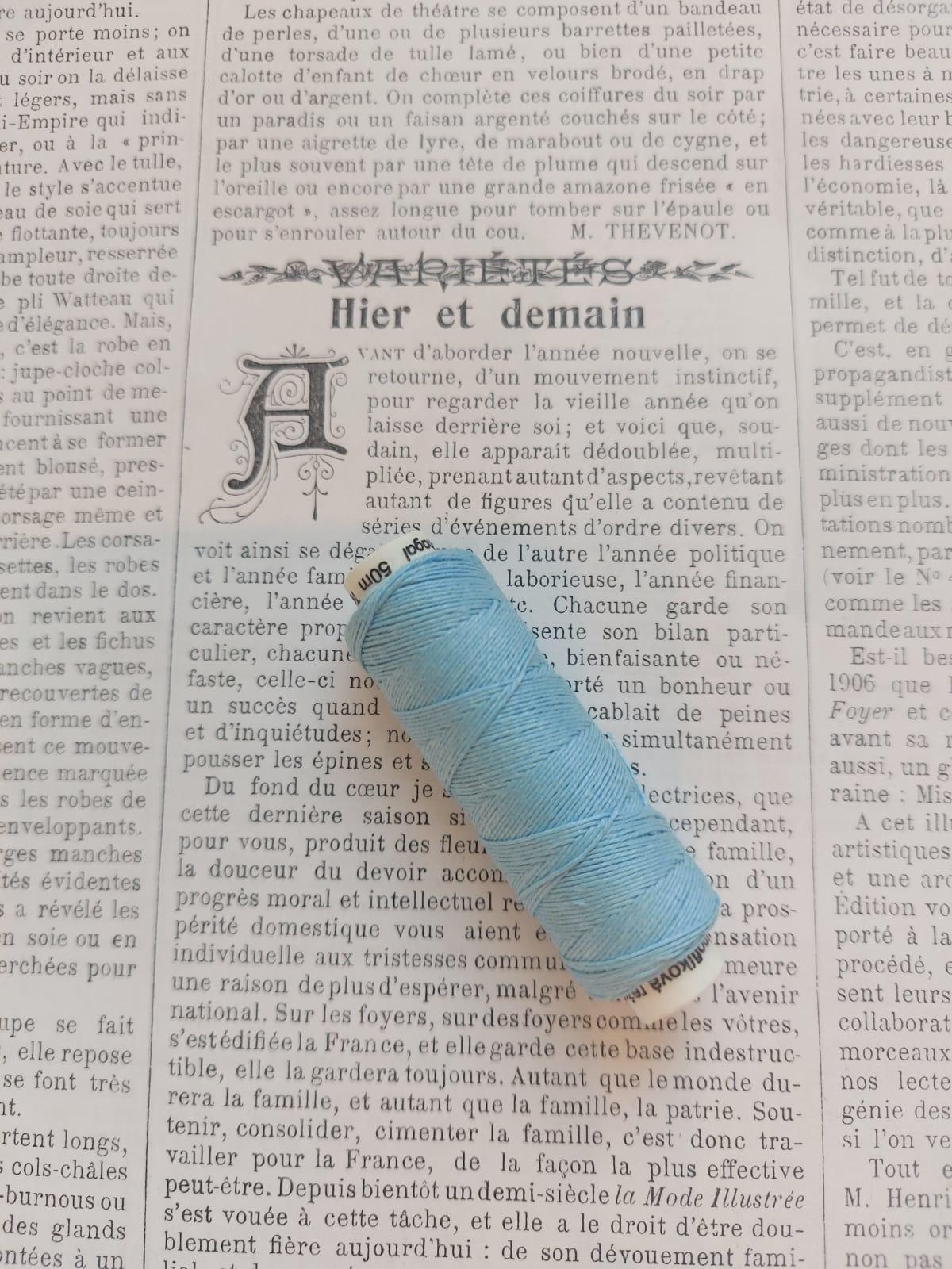 Linen Buttonhole Thread diff. colors