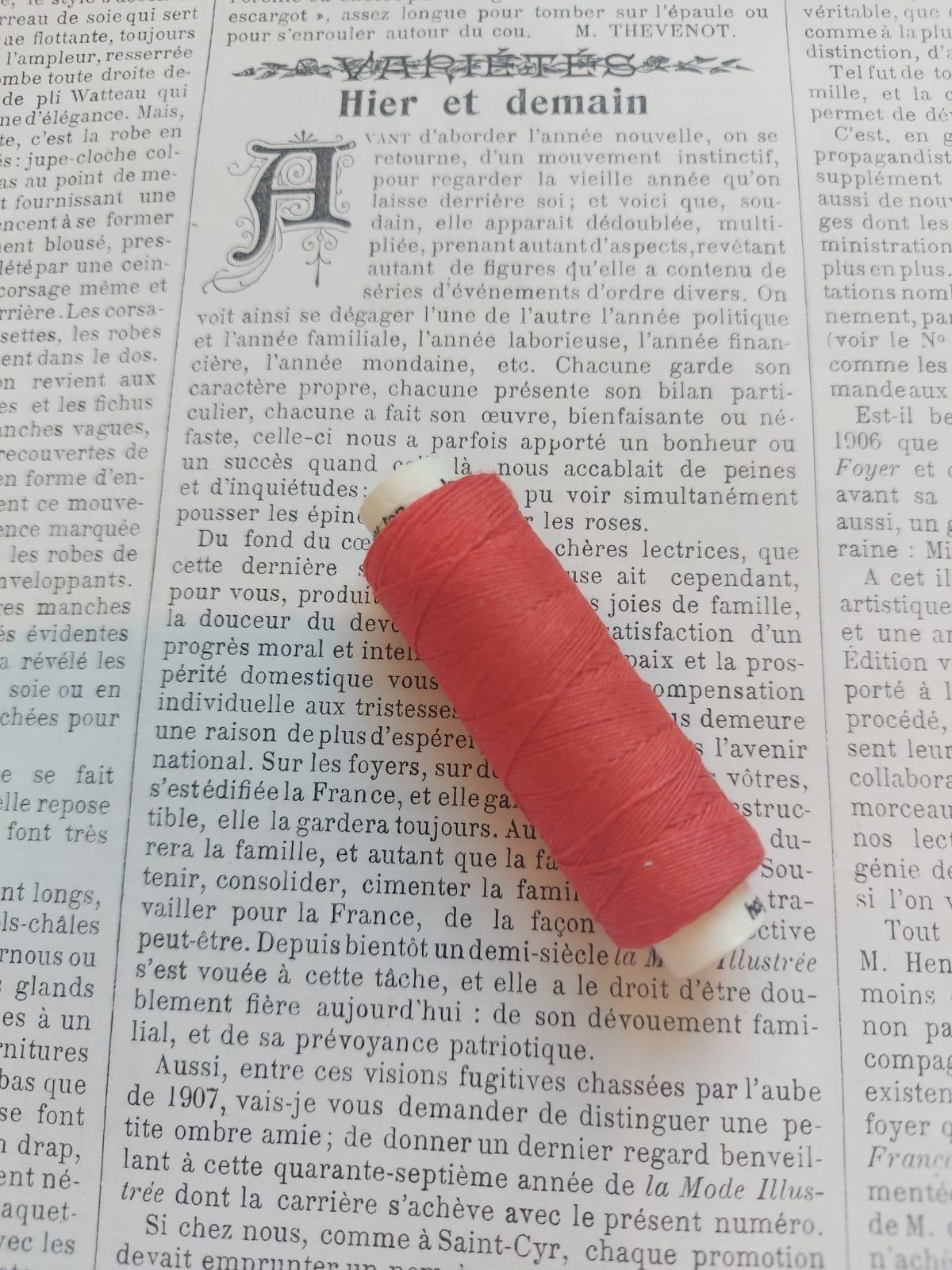 Linen Buttonhole Thread