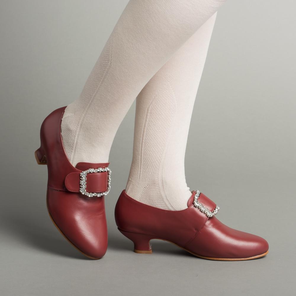 American Duchess American Duchess Rococo Kensington schoenen Oxblood