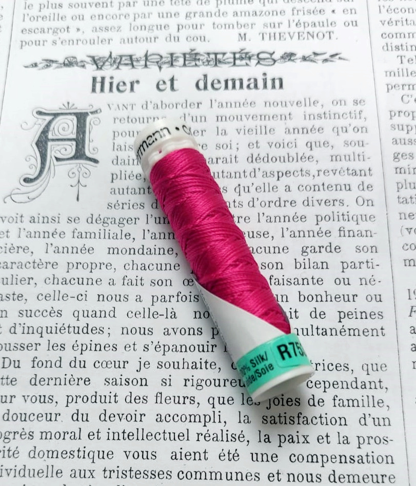 Gutermann  Silk Buttonhole Thread diff. colors